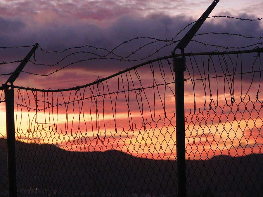 Sunset in Nogales, 2008